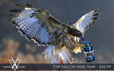 HORIZON Tanks HORIZON  FALCON KING Edition NEW 6ml sub ohm tank