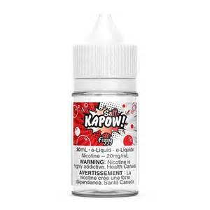 Kapow Salts Fizzy Drink / 12mg Kapow Nic Salt Juices 30ml