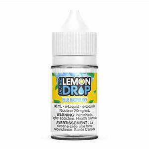 Lemon Drop Salts Blue raspberry / 12mg Lemon Drop Salts Nic Juices