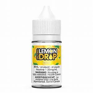 Lemon Drop Salts Mango / 12mg Lemon Drop Salts Nic Juices