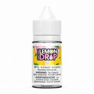 Lemon Drop Salts Pink Lemonade / 12mg Lemon Drop Salts Nic Juices