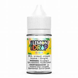 Lemon Drop Salts Rainbow / 12mg Lemon Drop Salts Nic Juices