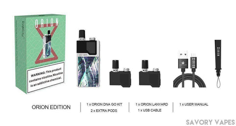 LOST VAPE Pods Kits Lost Vape - ORION DNA Go Pod Mod