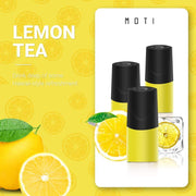 MOTI Pre Filled Pods Lemon Tea / 20mg MOTI Vape Prefilled Juice Pods - 3/pk