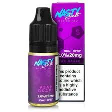 Nasty Juice Salts A$AP Grape / 20mg Nasty Juice Salts  30ml