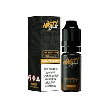 Nasty Juice Salts Tobacco Bronze / 20mg Nasty Juice Salts  30ml