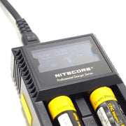 NITECORE Chargers NITECORE - D2 Digicharger - Universal Digital Battery Charger