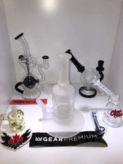 Red Eye Glass Wax & Dry Herb Kit Red Eye Glass & Cheech & Chong Glass Rigs for herb and Concentrates | Available In Store Only