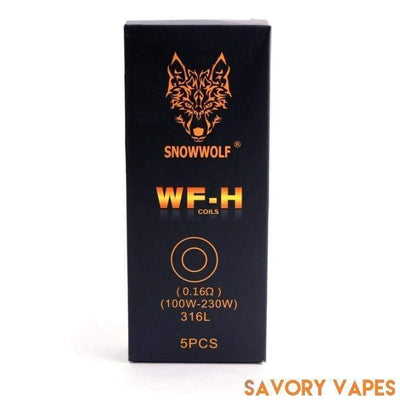 SIGELEI Coils Silver / 0.16ohm SIGELEI - SnowWolf MFENG Wolf Coils (5 pack)
