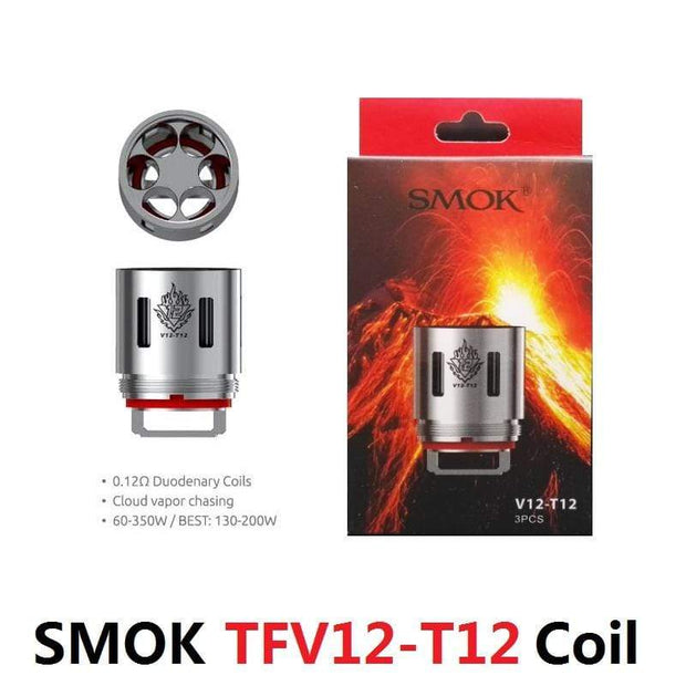 SMOK Coils 0.12Ω Duodenary SMOK - TFV12 Replacement Coils (3 pack)