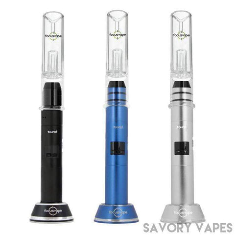 T Vape Dry Herb Vapes FOCUSVAPE Tourist 2 in 1 Vaporizer