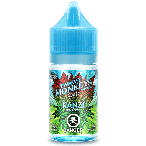 TWELVE MONKEYS Salts Twelve Monkeys Ice age Salts | Kanzi Iced 30ml