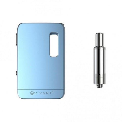 VIVANT Wax and Concentrate vapes Blue VIVANT VAULT WAX/OIL  KIT 650mAh  Battery