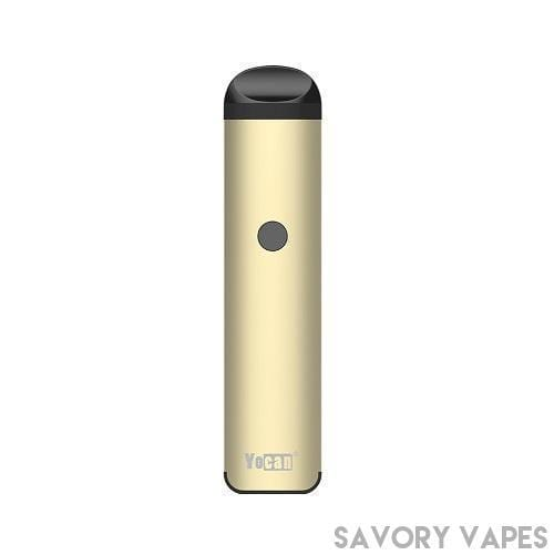 YOCAN Herb & Wax Vaporizers Gold YOCAN Evolve  2.0  - Wax, oil and Juice - 3 in 1 pen