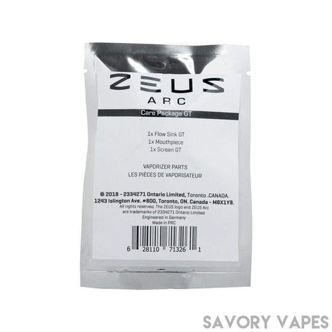 Zues Arc Dry Herb Vapes ZUES Arc Gt Care package