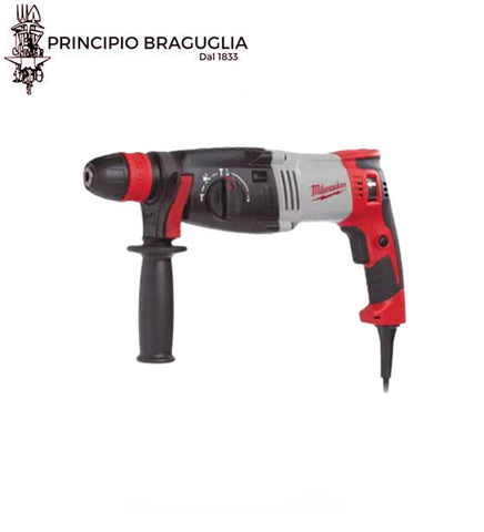 Tassellatore Sds-Plus Milwaukee PH30 Power X 3 modalità 1030W battuta 3,6J foratura fino a 30mm