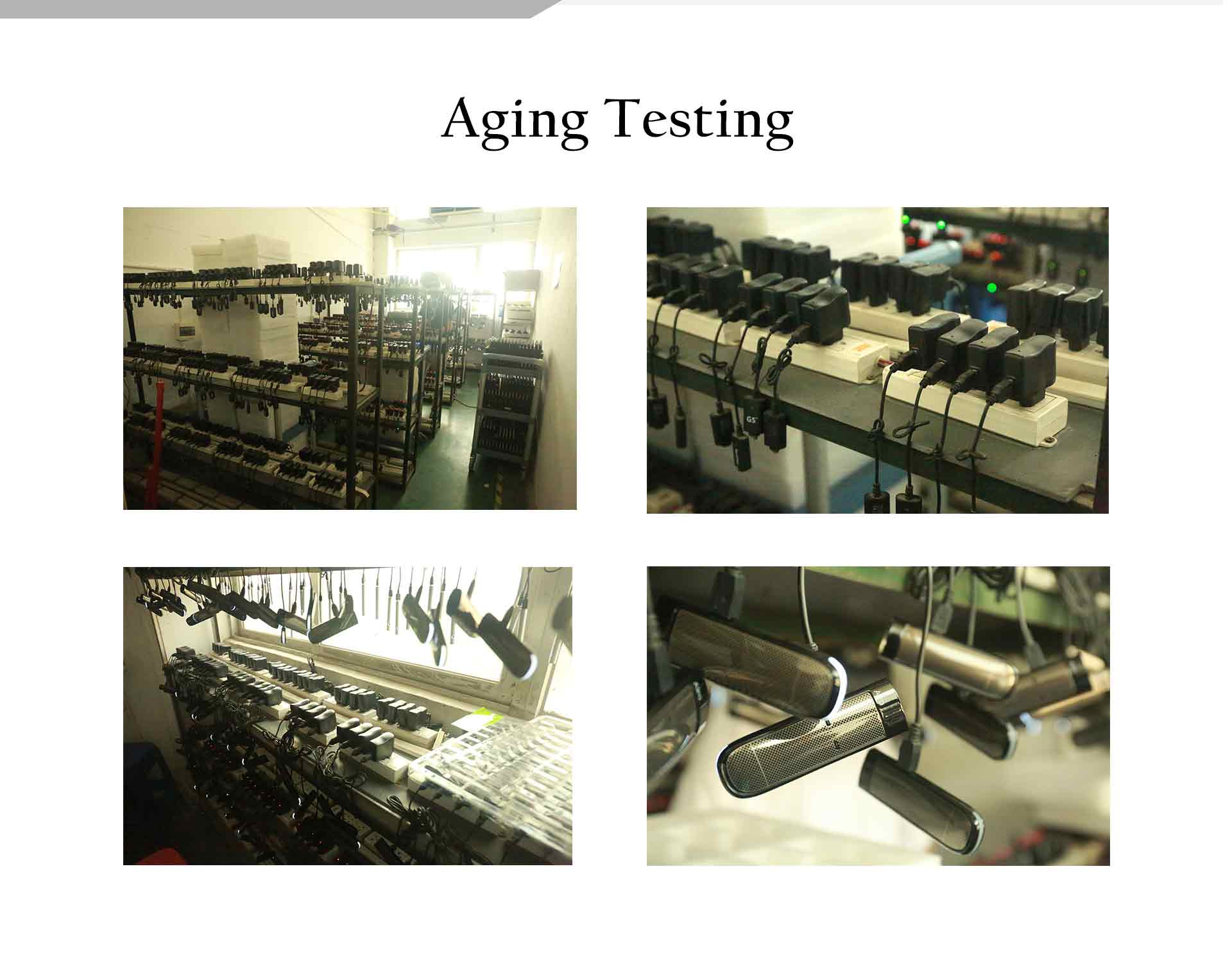 veiik product aging testing
