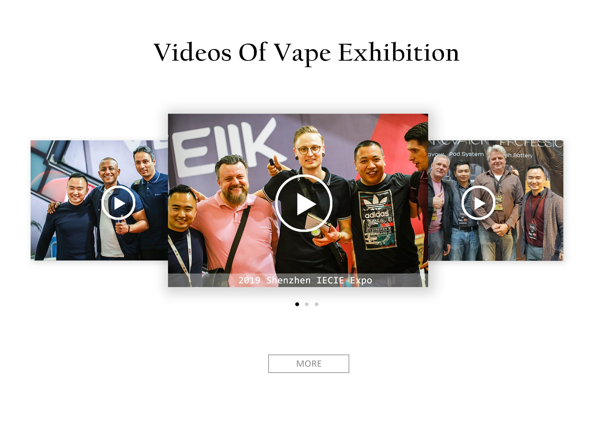 video of vape exhibition