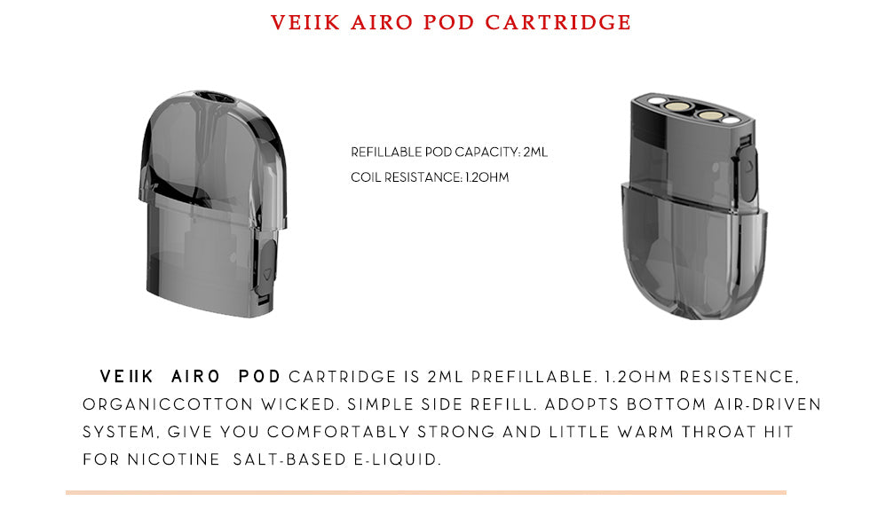 VEIIK airo pod cartridge