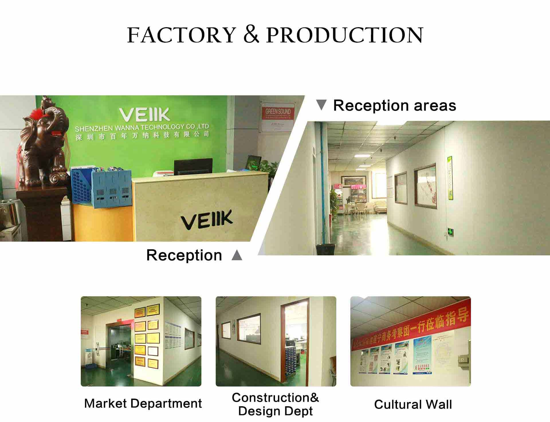 veiik factory & production