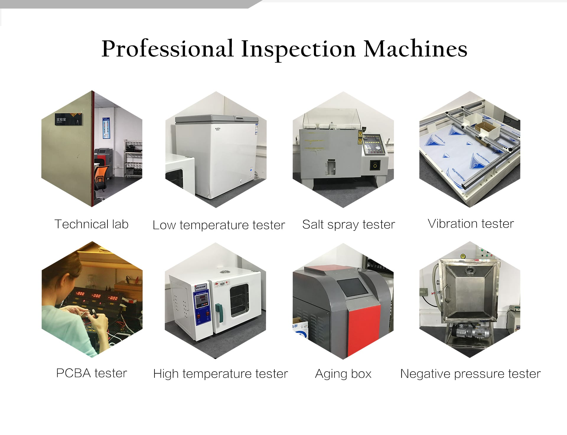 professional inspection machines