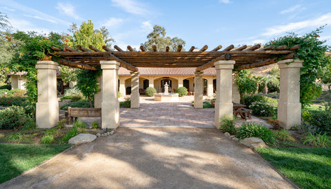 La Panza Ranch Courtyard