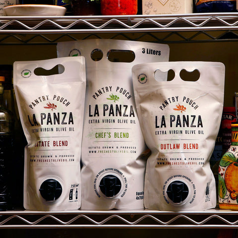 Three La Panza Pantry Pouches