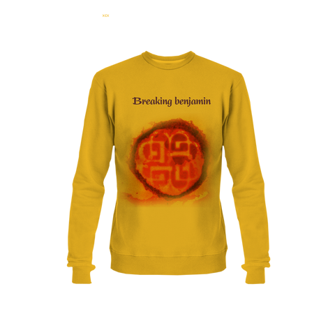 Yellow Evil Angel 3D printing long sleeves TShirt