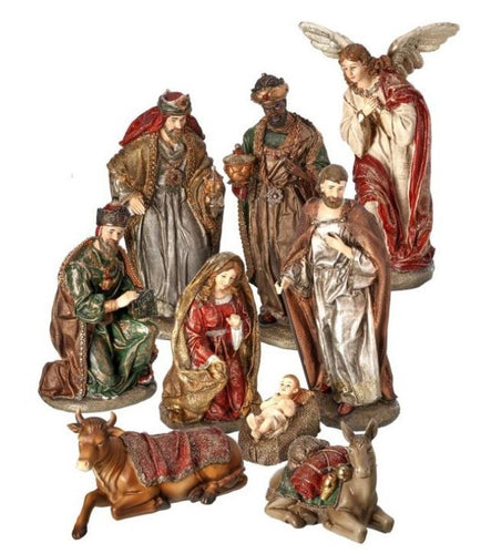 Nativity Set- 9 piece