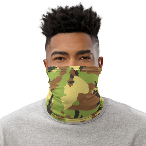 Camouflage Neck Gaiter/Face Covering