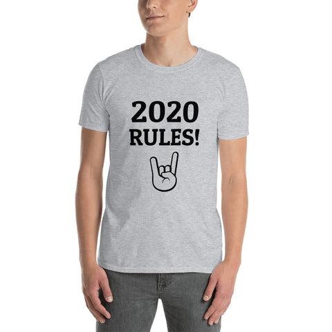 2020 RULES! Short-Sleeve Unisex T-Shirt