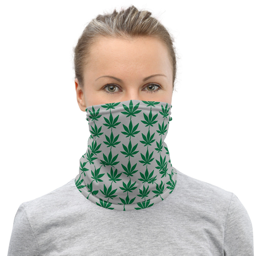 Cannabis Leaf Neck Gaiter/Face Covering