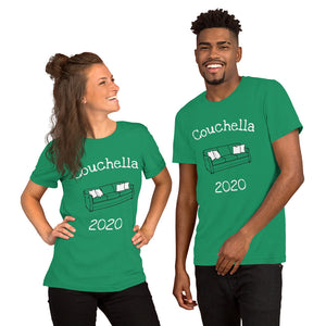 Couchella 2020 Short-Sleeve Unisex T-Shirt