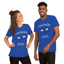 Load image into Gallery viewer, Couchella 2020 Short-Sleeve Unisex T-Shirt