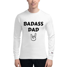 Load image into Gallery viewer, Badass Dad Men's Champion Long Sleeve Shirt