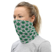 Load image into Gallery viewer, Cannabis Leaf Neck Gaiter/Face Covering