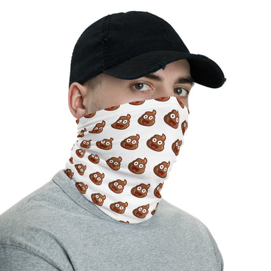 Poop Emoji Neck Gaiter/Face Covering