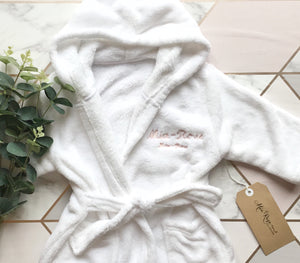 Personalised Dressing Gown