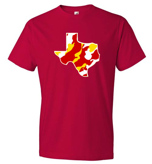 Red and Yellow Texas Camo