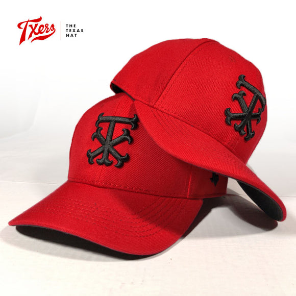 Red Alerts - Lone Star Baseball hats