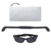 Original WeeFarers Baby Sunglasses Black Pouch and Strap