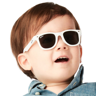 Original WeeFarers Boy Toddler Sunglasses White