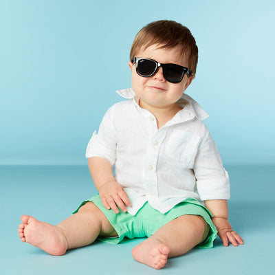 Polarized WeeFarers Boy Baby Sunglasses Black