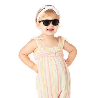 Polarized WeeFarers Girl Baby Sunglasses Black