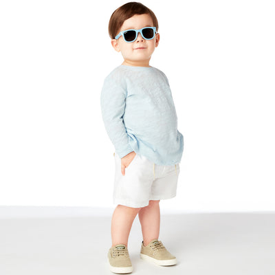 Polarized WeeFarers Baby Sunglasses Blue Boy