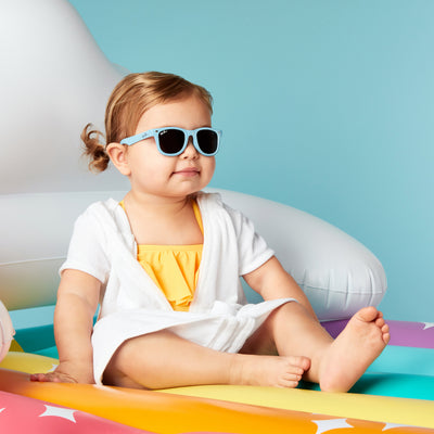 Polarized WeeFarers Baby Sunglasses Blue Girl
