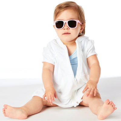 Polarized WeeFarers Toddler Sunglasses Pink
