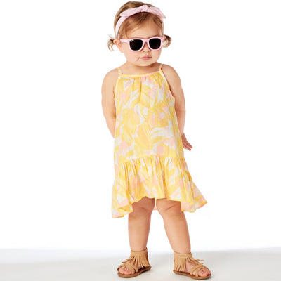 Polarized WeeFarers Baby Sunglasses Pink Girl