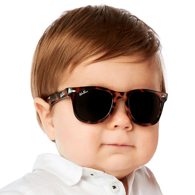 Polarized WeeFarers Baby Sunglasses Tortoise Shell Boy