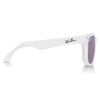 Polarized WeeFarers Baby Sunglasses White and Purple side